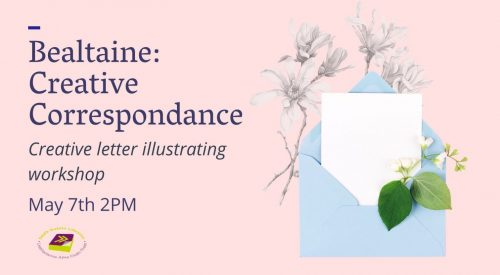 Creative Correspondence: Illustrate a letter to post to a friend