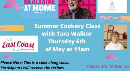 Summer Cookery Class with Tara Walker from the North East Cookery School