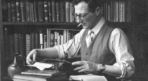 Talk: Irish Writers and the Thirties