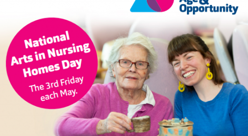 National Arts in Nursing Home Day: Getting To Know Ireland
