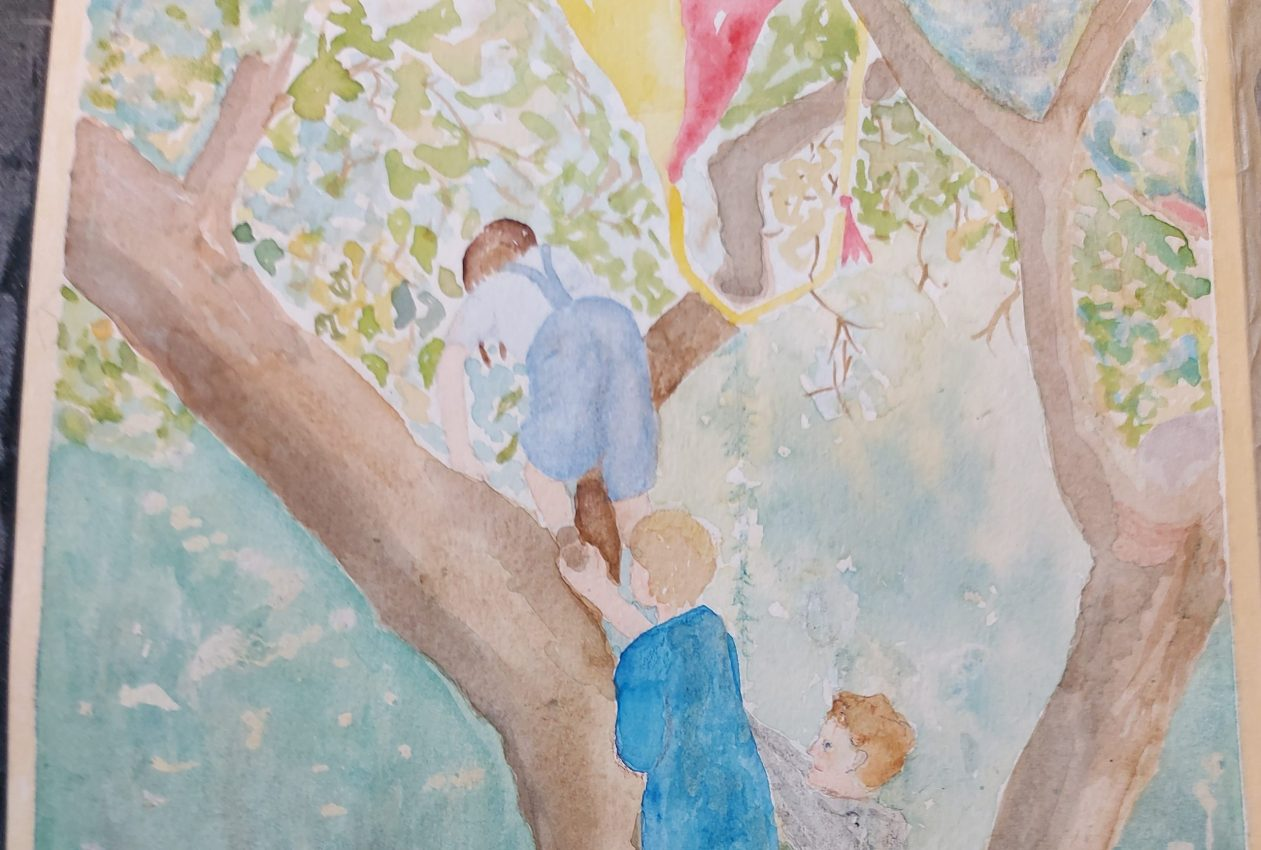 National Arts In Nursing Homes Day: Spread the Joy Painting